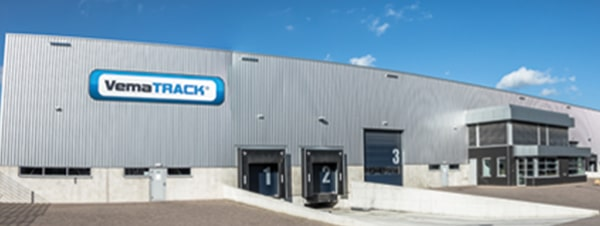 Vematrack Head office and warehouse the netherlands
